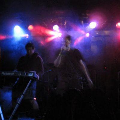 Gothtoberfest, Chicago, 2009. Phil Fox from PTI filled in on keys!