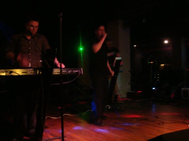 Pegasus, Pittsburgh PA, supporting Funker Vogt in 2009.