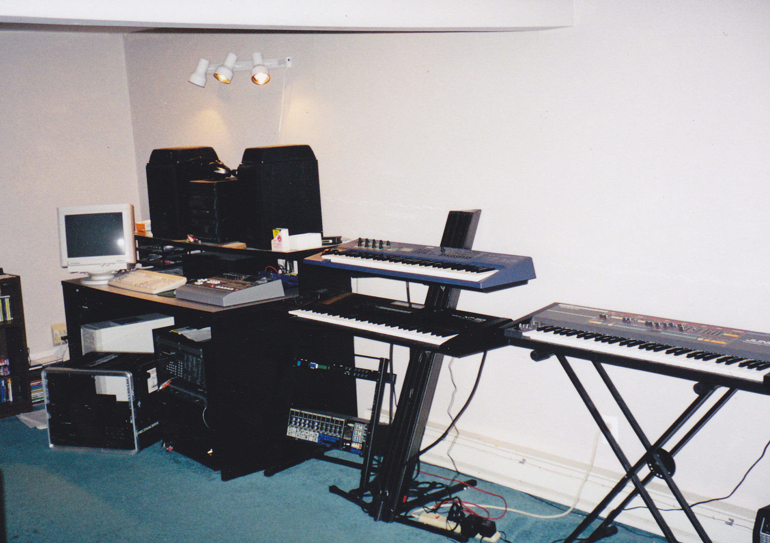 Humble beginnings: the Interface studio in 1999.