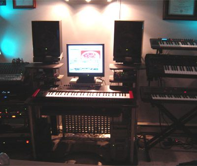The studio in the Visions Of Modern Life era.